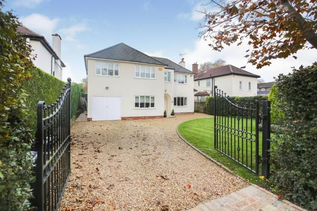 Thumbnail Detached house for sale in Holly Road North, Wilmslow, Cheshire