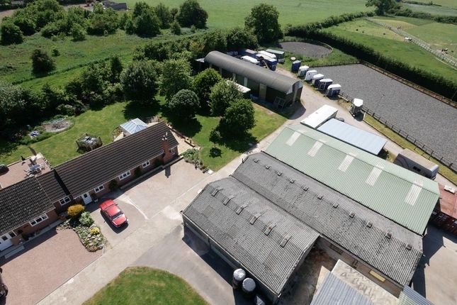 Thumbnail Equestrian property for sale in Potters Kiln Farm, Potters Marston, Leicestershire