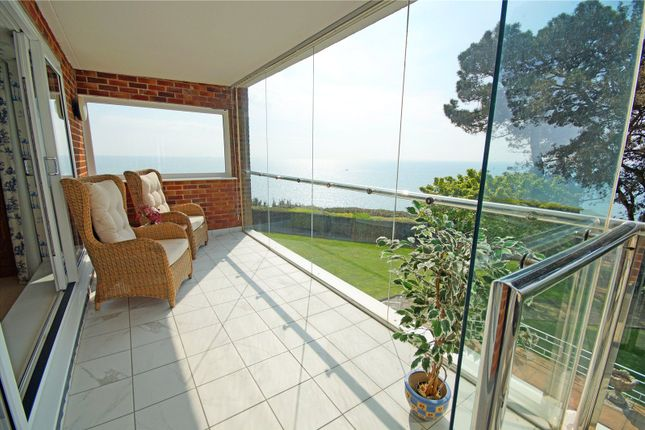 Balcony Vista of Cliff Drive, Canford Cliffs, Poole BH13