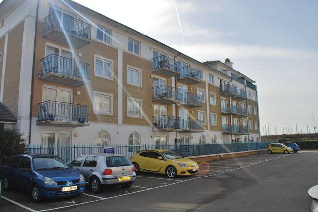 Thumbnail Flat to rent in Merton Court, Brighton Marina