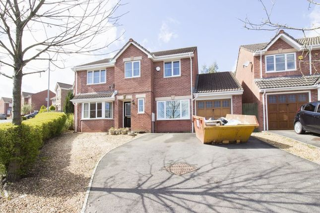Thumbnail Detached house for sale in Dorallt Way, Henllys, Cwmbran