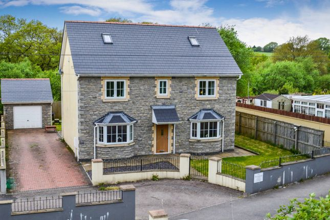 Thumbnail Detached house for sale in The Paddocks, Trelewis, Treharris