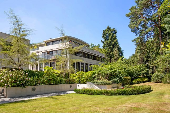 Thumbnail Flat for sale in Charters Court, Charters Road, Ascot, Berkshire