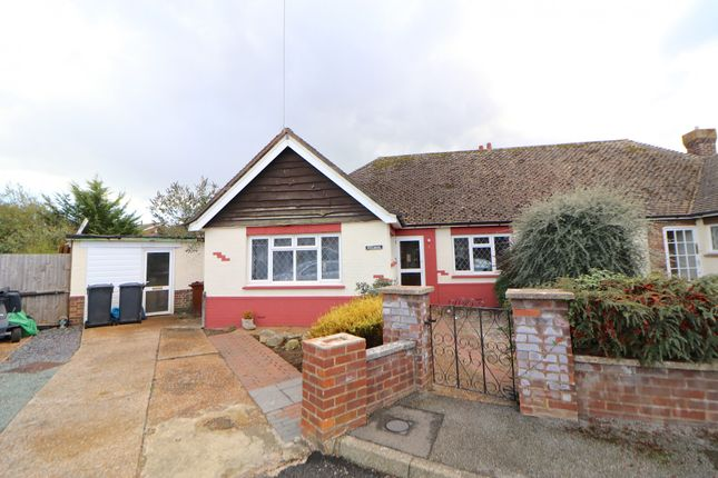 Thumbnail Bungalow to rent in Fairlight Close, Polegate, East Sussex