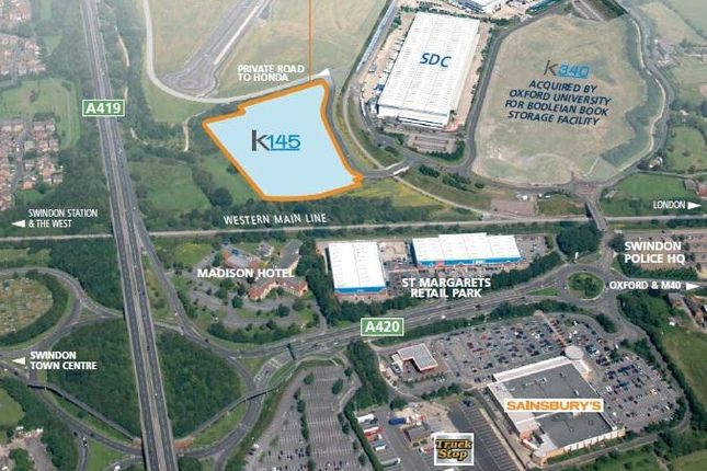 Thumbnail Industrial for sale in Plot K145, Keypoint, Thornhill Road, South Marston, Swindon