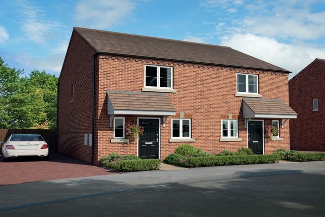 Thumbnail Terraced house for sale in Orchard Place Pershore Road, Hampton, Evesham