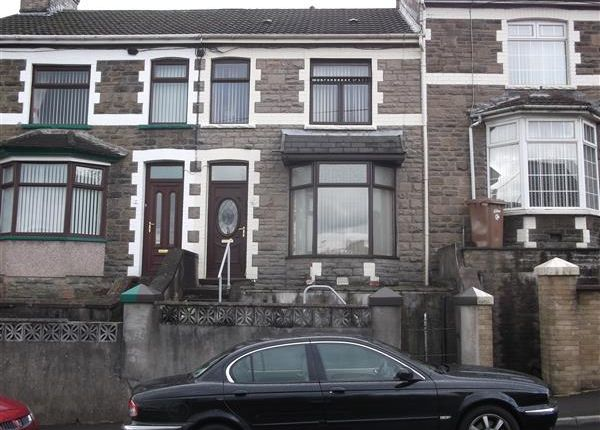 Thumbnail Terraced house for sale in Cardiff Road, Bargoed