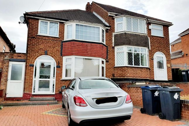 Thumbnail Semi-detached house to rent in Mildenhall Road, Great Barr, Birmingham