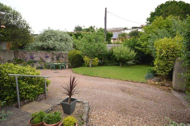 Garden of Headway Cross Road, Teignmouth, Devon TQ14