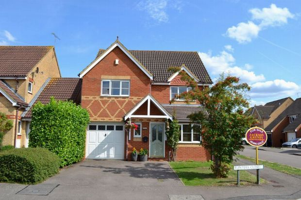 Thumbnail Detached house for sale in Flinters Close, Wootton Fields, Northampton