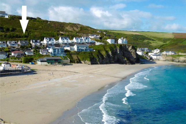 Thumbnail Land for sale in Battery Hill, Portreath, Redruth, Cornwall