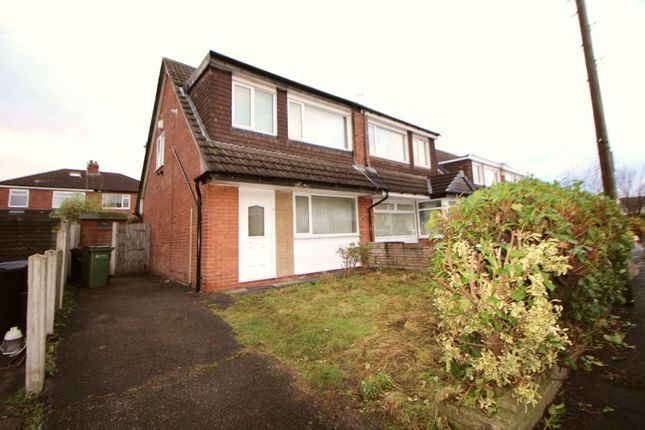 Thumbnail Semi-detached house to rent in Olwen Crescent, Stockport