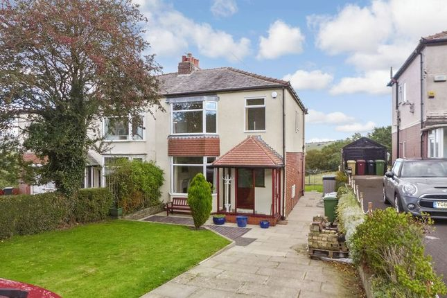 Thumbnail Semi-detached house for sale in Chapeltown Road, Bromley Cross, Bolton