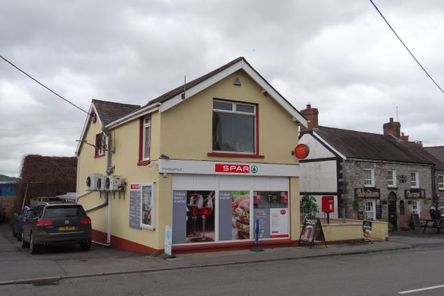 Thumbnail Retail premises for sale in Main Street, Porthyrhyd, Carmarthenshire 8Pl