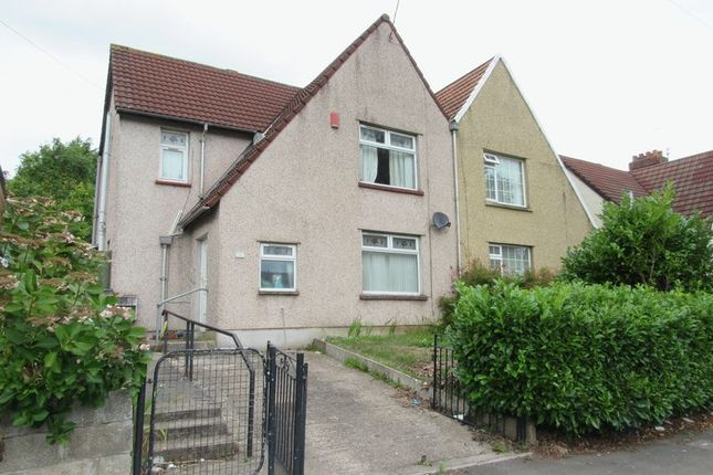 Thumbnail Semi-detached house for sale in Grand Avenue, Ely, Cardiff