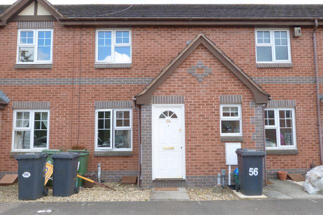 Thumbnail Terraced house to rent in Kestrel Gardens, Quedgeley, Gloucester