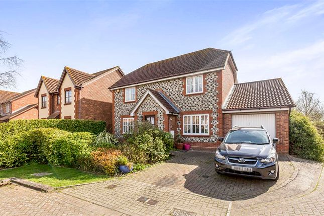 Thumbnail Detached house for sale in Grafton Close, Grafton Close, Gosport