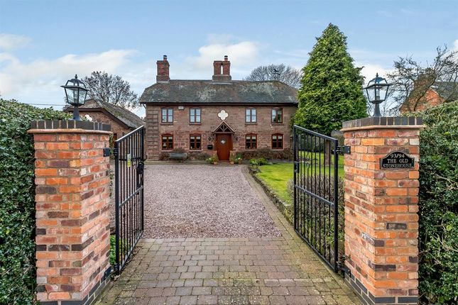 Thumbnail Detached house for sale in The Old Stonehouse, Main Road, Baxterley, Warwickshire
