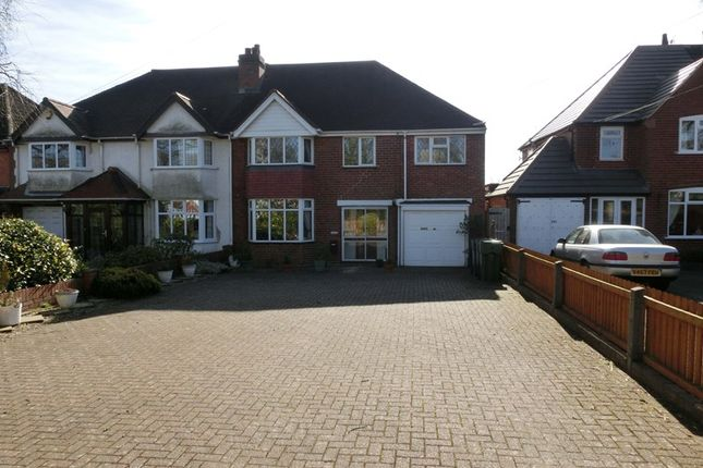 Thumbnail Semi-detached house for sale in Station Road, Wythall, Birmingham