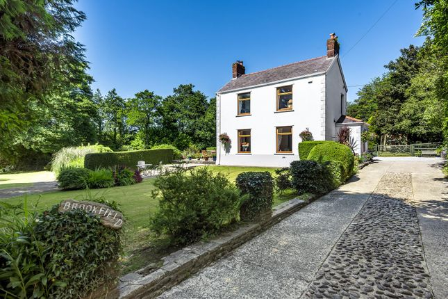 Thumbnail Detached house for sale in Brookfield, Llangyfelach, Swansea.