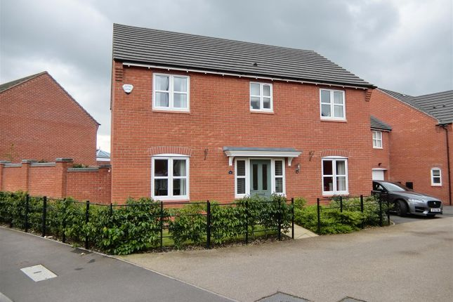 Thumbnail Detached house for sale in Usbourne Way, Ibstock, Leicestershire