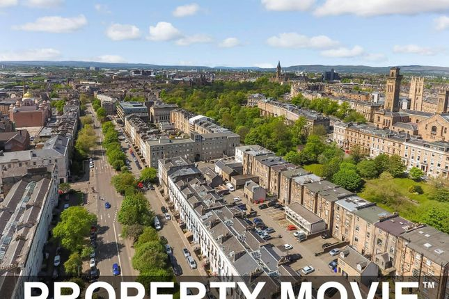 Thumbnail Town house for sale in Main Door, 7A Newton Terrace, Park, Glasgow