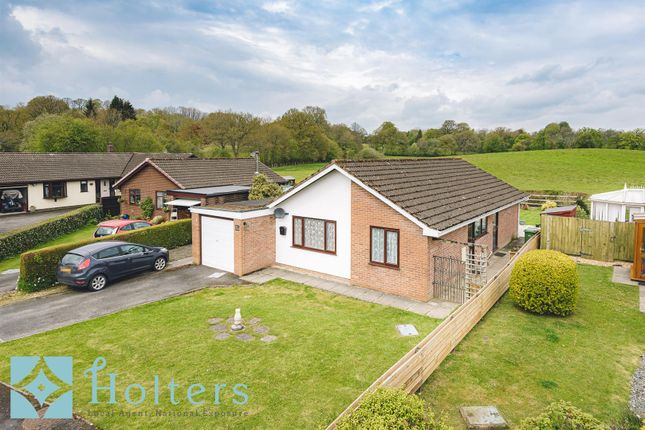Thumbnail Detached bungalow for sale in Parc Yr Irfon, Builth Wells