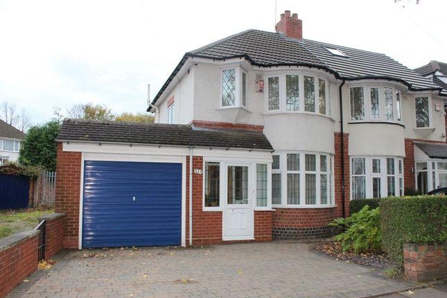 Thumbnail Semi-detached house for sale in Bilton Grange Road, Birmingham