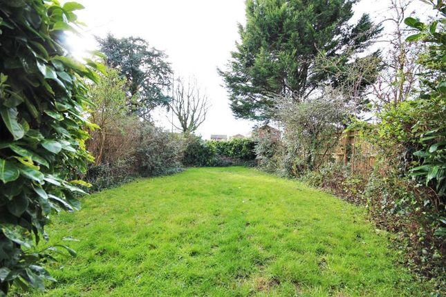 Garden of Blenheim Gardens, Grove, Wantage OX12