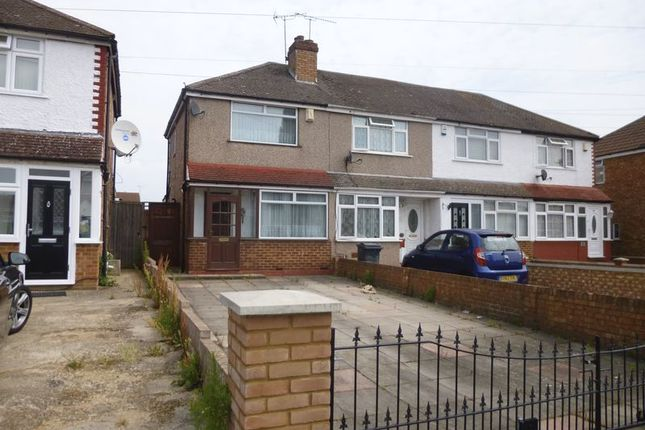 Thumbnail Terraced house to rent in Laburnum Road, Hayes
