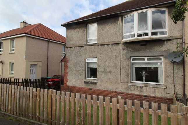 Thumbnail Flat for sale in Lady Wilson Street, Airdrie, North Lanarkshire