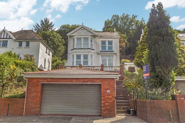 Thumbnail Detached house for sale in Sarnfan Baglan Road, Baglan, Port Talbot, Neath Port Talbot.