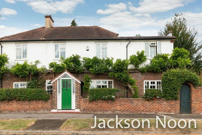 Thumbnail Detached house for sale in Plough Road, West Ewell, Epsom