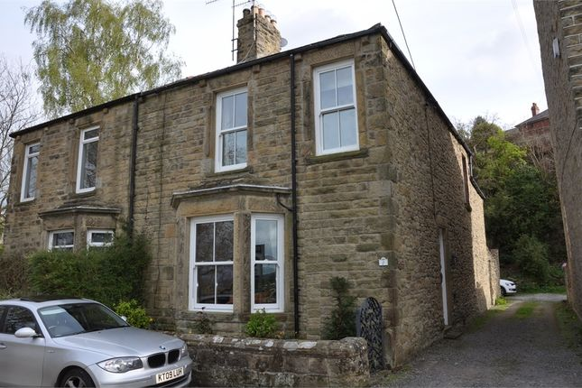 Thumbnail Semi-detached house for sale in Tyne View Terrace, Fellside, Hexham, Northumberland.