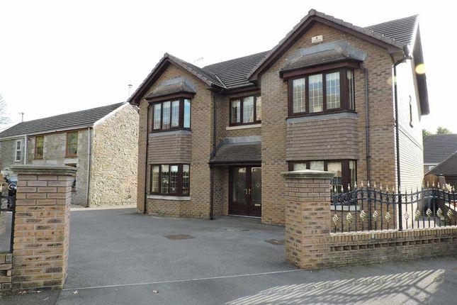 Thumbnail Detached house for sale in Saron Close, Gorseinon, Swansea