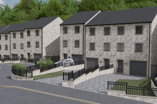 Thumbnail Town house for sale in Castle Hill, Keighley