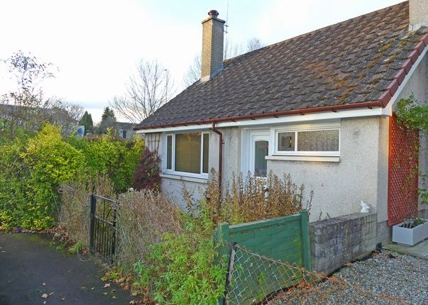 Thumbnail Terraced bungalow for sale in Planton Square, Luncarty