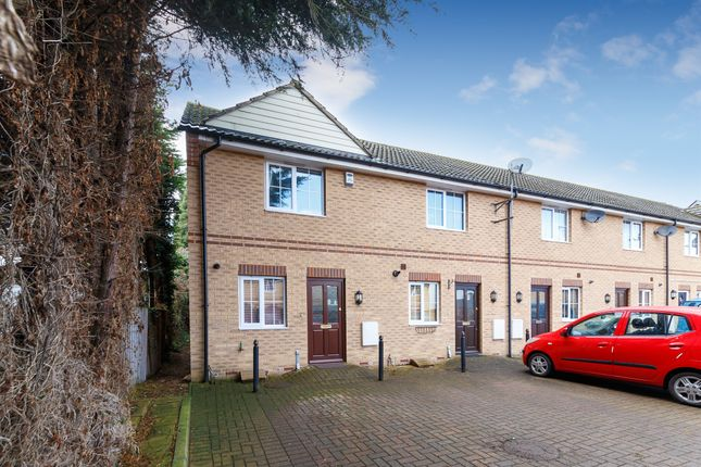 Thumbnail End terrace house for sale in Prince Of Wales Close, Arlesey