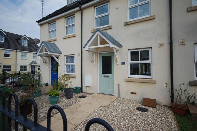 Thumbnail Terraced house to rent in Fulford Close, Bideford