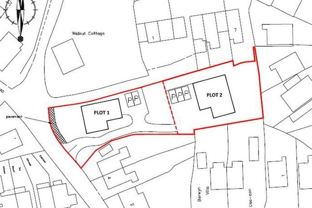 Thumbnail Land for sale in East Road, Ketley Bank, Telford