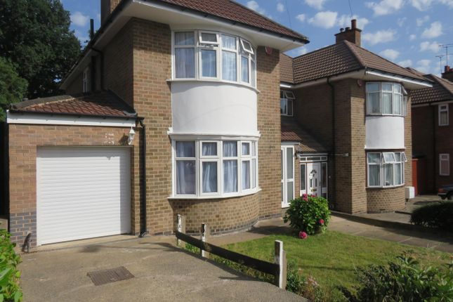 Thumbnail Detached house to rent in Highway Road, Leicester
