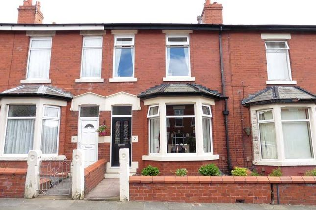 Thumbnail Terraced house for sale in Elm Avenue, Blackpool