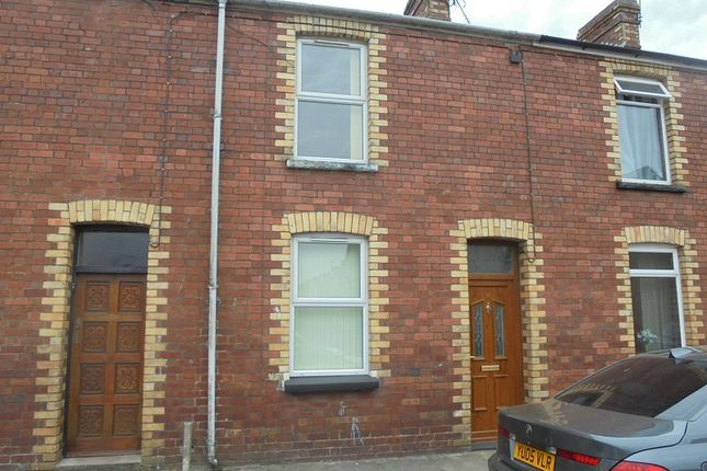 Thumbnail Terraced house to rent in Suffolk Street, Bridgend
