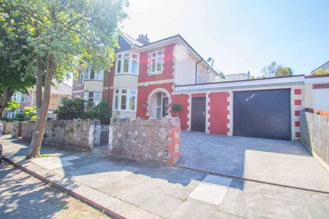 Thumbnail Semi-detached house for sale in Culme Road, Plymouth