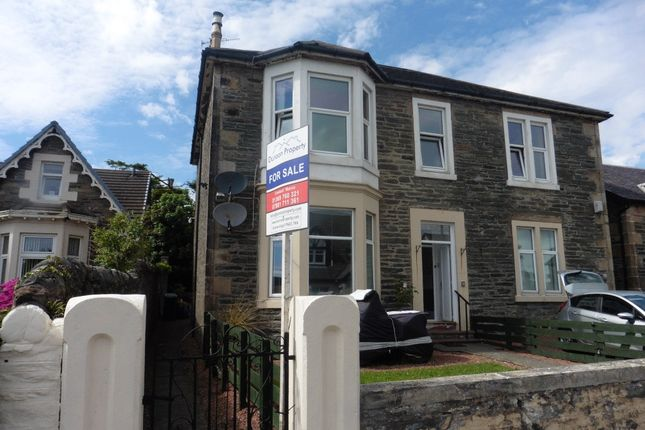 Thumbnail Flat for sale in 29 Wellington Streeet, Dunoon