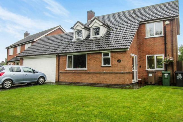 Thumbnail Detached house for sale in Rupert Crescent, Queniborough