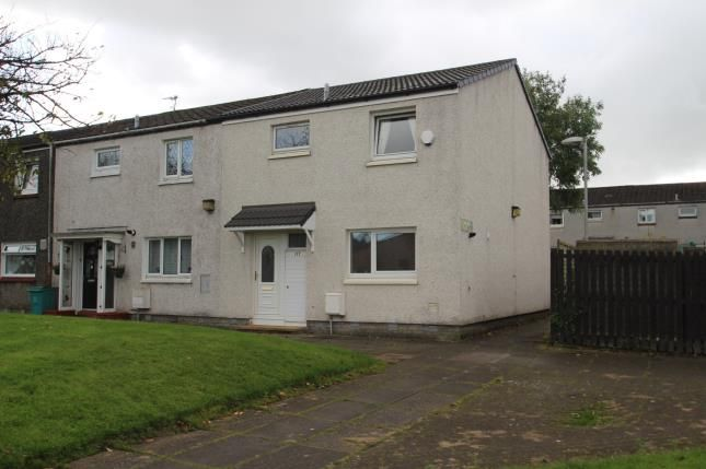 Thumbnail End terrace house for sale in Birch Road, Abronhill, Cumbernauld, North Lanarkshire