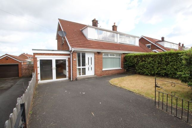 Thumbnail 3 bed semi-detached house for sale in Lynne Road, Bangor