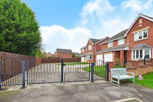 Gated Driveway of Toll House Mead, Mosborough, Sheffield S20