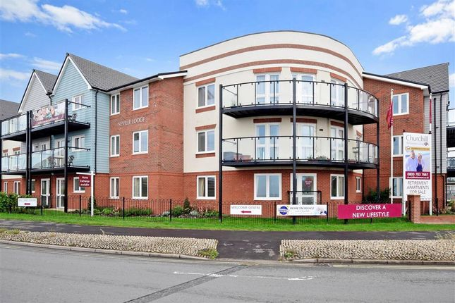 Thumbnail Flat for sale in Rowe Avenue, Peacehaven, East Sussex